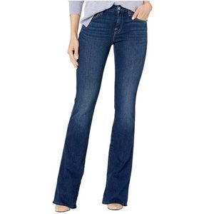 7 For All Mankind A Pocket Dark Wash Bootcut Jeans